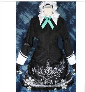 Anime Kagerou Projeto Touhou Project Izayoi Sakuya Cosplay qualquer tamanho mulher