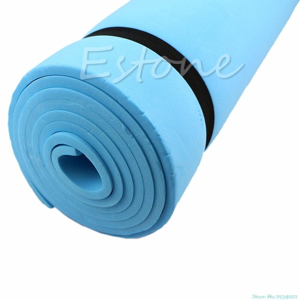 Novo 1 pc dampproof eco-friendly dormir colchão esteira exercício eva espuma yoga almofada navio da gota