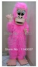 mascot Pink Gorilla Mascot Costume Adult Size Cartoon Character Pink Gorilla Mascotte Outfit Suit Fancy Dress