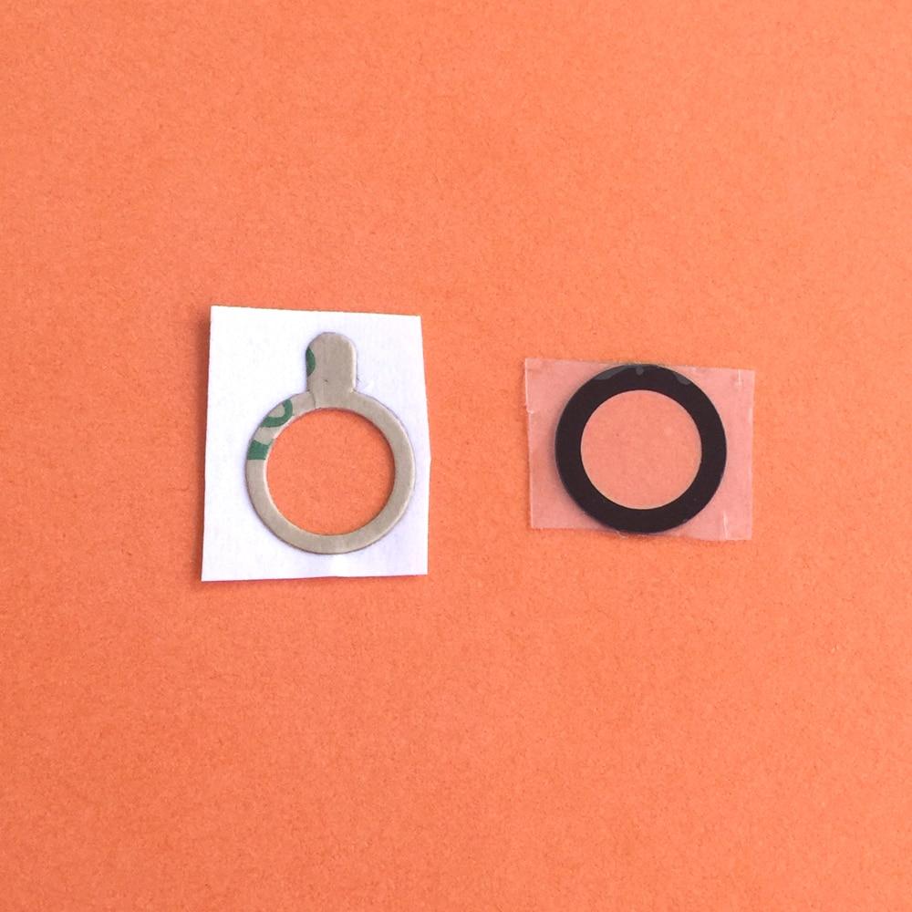 30 piezas no de plástico para LG V10 H900 F600 H901 VS990 H960 cámara trasera de la lente de cristal con adhesivo piezas de reparación