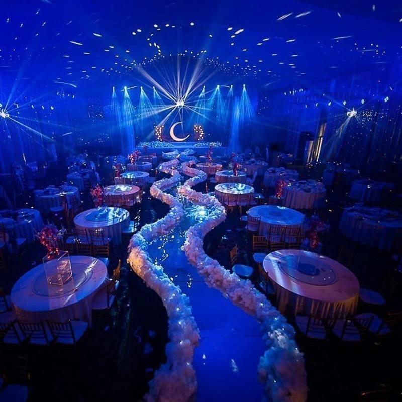 Acabado Road-Leading Cloud boda Props T camino boda fotografía fiesta chiden Room DIY decorativo ventana diseño blanco