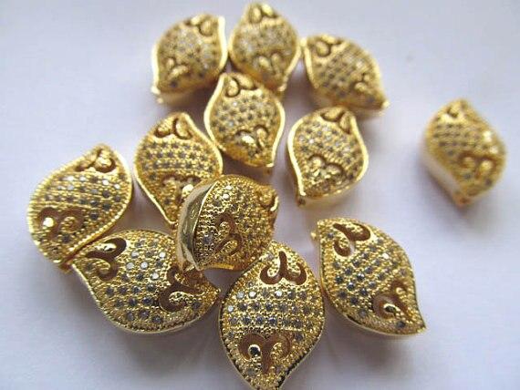 Aaa 12 X 16 mm 12 pcs conector de strass pavimentar metálico espaçador & cúbico zirconia cristal diamante ovo oval jóias contas barril