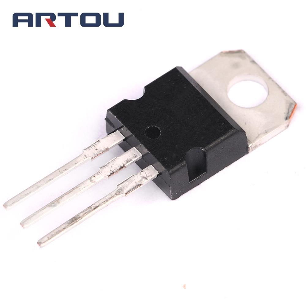 10 pces l7812 7812 a-220 regulador de tensão ic 12 v 1.5a