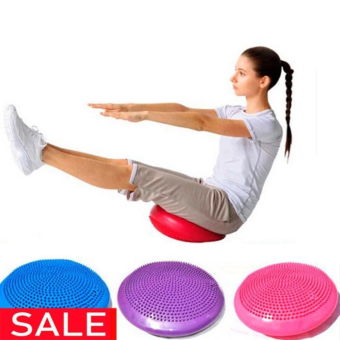 Giro disco de equilibrio tablero inflable bola para masajes en los pies de Fitness ejercicio equipo Twister gimnasio equilibrio