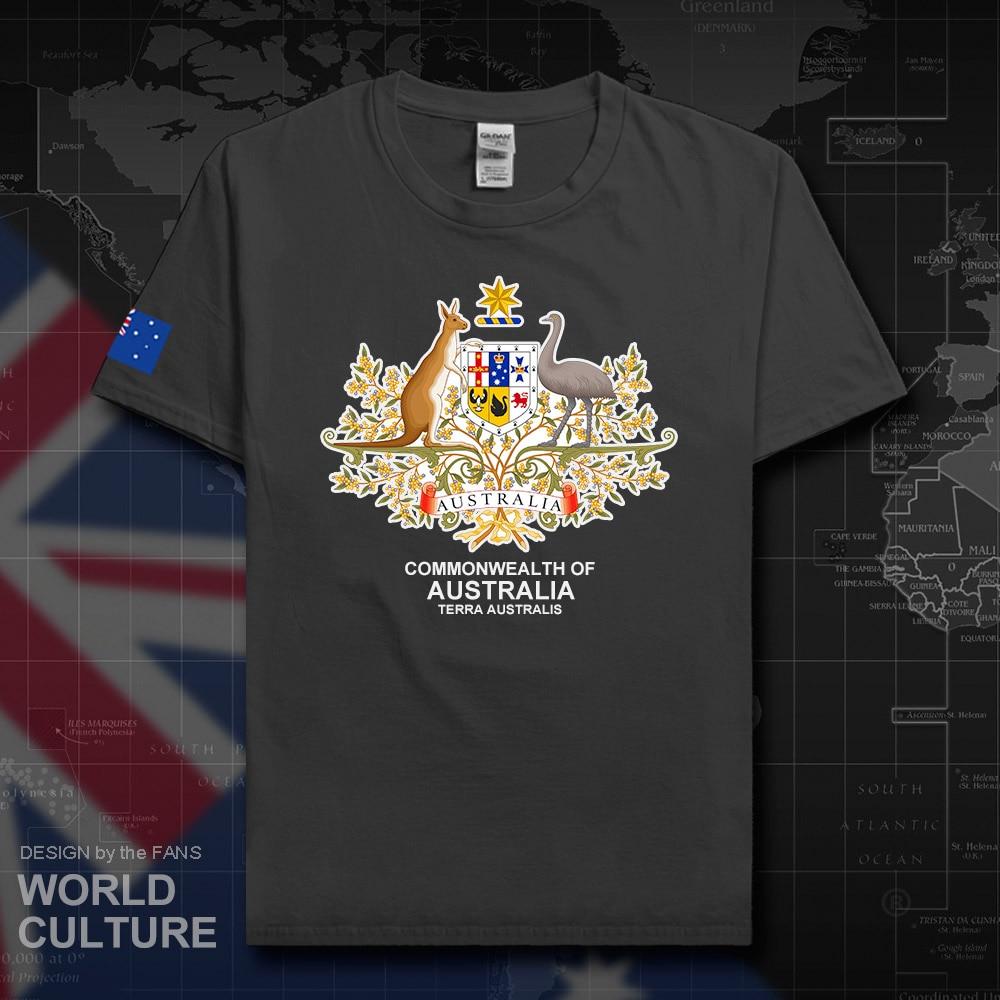 Commonwealth of australia t camisa masculina aussie t-shirts topos algodão nação país fãs streetwear fitness aus australian tees 20