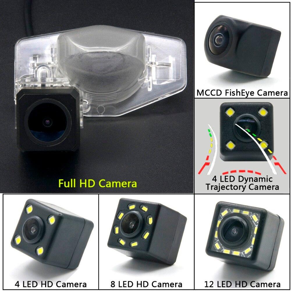Hd completo 1280*720 câmera de visão traseira do carro backup monitor estacionamento para honda odyssey accord crostour CR-V crv ajuste jazz hrv crz crx