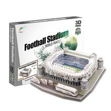 2018 новый продукт футбольное поле модель лагерь ноу бумага DIY игрушки футбол для детей подарок Прямая поставка