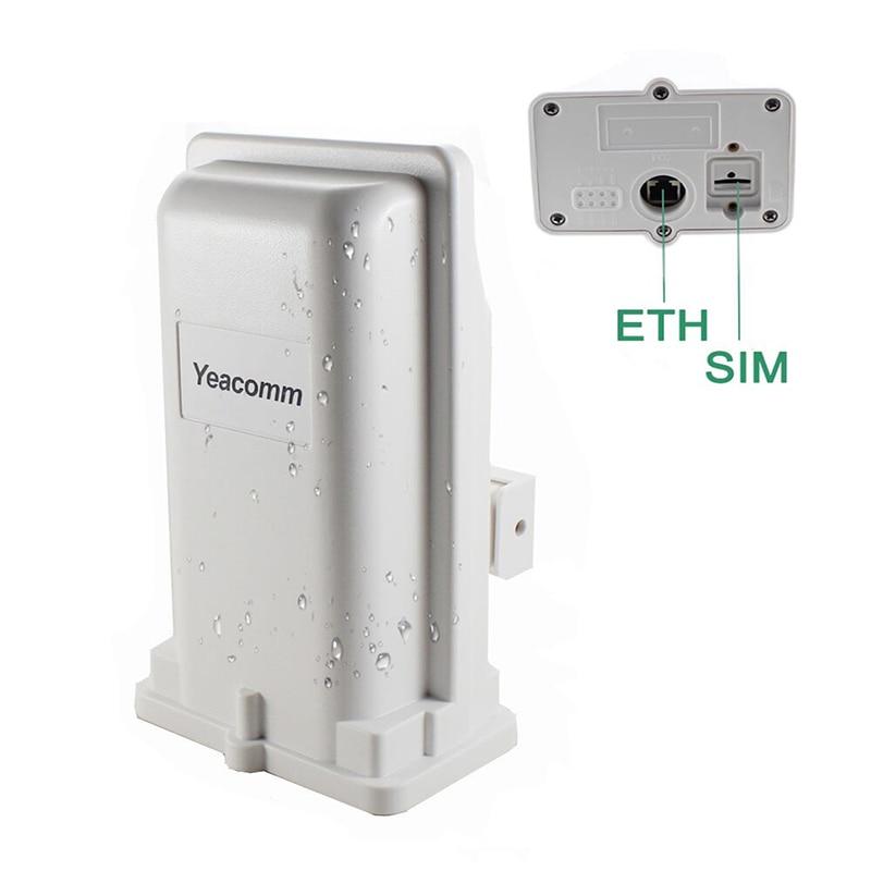 دعم POE Yeacomm YF-P11 في الهواء الطلق 4g CPE راوتر نقطة الوصول جسر LTE 150M مع 8dbi المدمج في هوائي