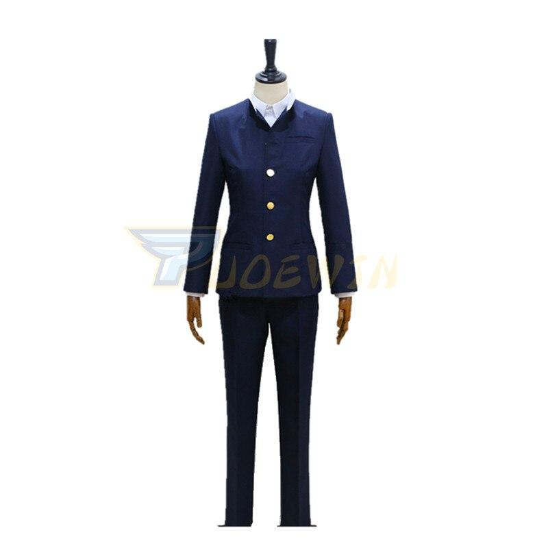 Anime Detective Conan magia Cosplay de Kaito ladrón fantasma chico Kaito Kuroba traje de niño de escuela Cosplay traje uniforme