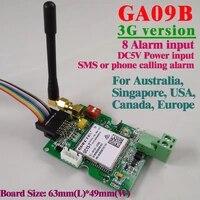 Panneau dalarme sans fil  GSM GA09B  Version 3G  systeme de securite domestique industriel  avec SMS et alerte  livraison gratuite