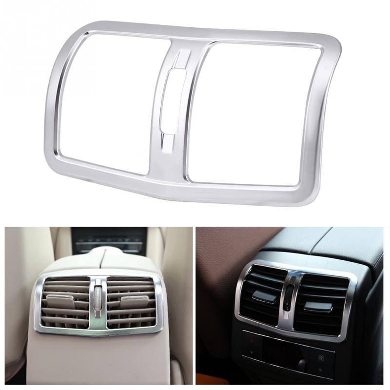 Car Back Rear Air Condition outlet Vent frame Cover Trim Interior Decoration  for Mercedes Benz E Class W212 12-15 Car String