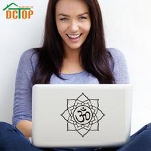 DCTOP художественный дизайн цветок лотоса «Ом» Символ DIY настенные наклейки домашний декор наклейка для ноутбука украшение водонепроницаемые обои