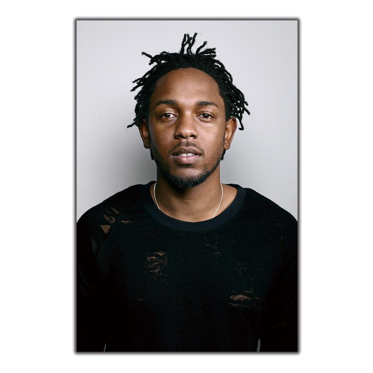 Arte do Cartaz Música Cantor de Hip Hop Rapper Kendrick Lamar Casa Decor14x21 12x18 24x36 27x40 cópia da Lona De parede Moderna