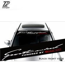 ZD Voor Citroen C5 C4 C3 C2 Mini Cooper Opel Astra H G J Vectra C Saab Auto Styling Voorruit Window Zonnescherm Decal Sticker Cover