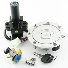 Serrure de bouchon de couvercle de réservoir de carburant   Verrouillage de interrupteur pour Honda Honda CB750 F2 CB Seven 50-1992-2001 CB 750