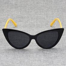MX DMY Cateye Sunglasses Women Vintage Gradient Glasses Retro Cat eye Sun glasses Female Eyewear UV4
