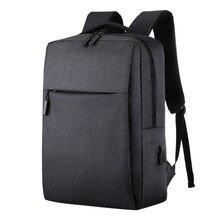 Litthing 2019 nowy Laptop plecak z Usb tornister plecak z zabezpieczeniem przeciw kradzieży mężczyźni plecak podróż plecaki męskie plecak rekreacyjny Mochila