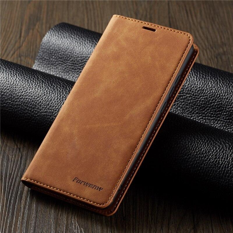 Fundas de cuero tipo billetera Tikitaka para Huawei P20 P30Plus P20Lite Mate20, funda con tapa magnética con ranura para tarjetas para Huawei Mate20Pro 10Lite