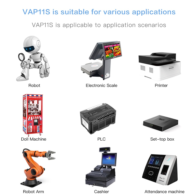 VONETS mini engineering bridge wifi relay routing ap amplification network port expansion IoT wireless to cable enlarge