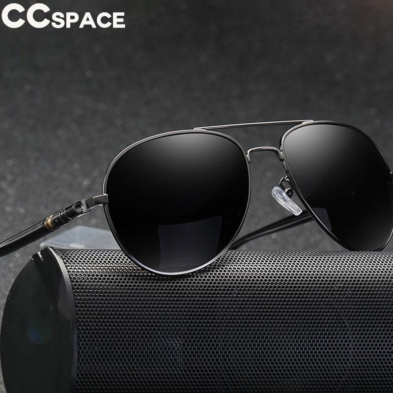45100 legal homem piloto óculos de sol feminino metal polarizado óculos de moda 100% proteção uv
