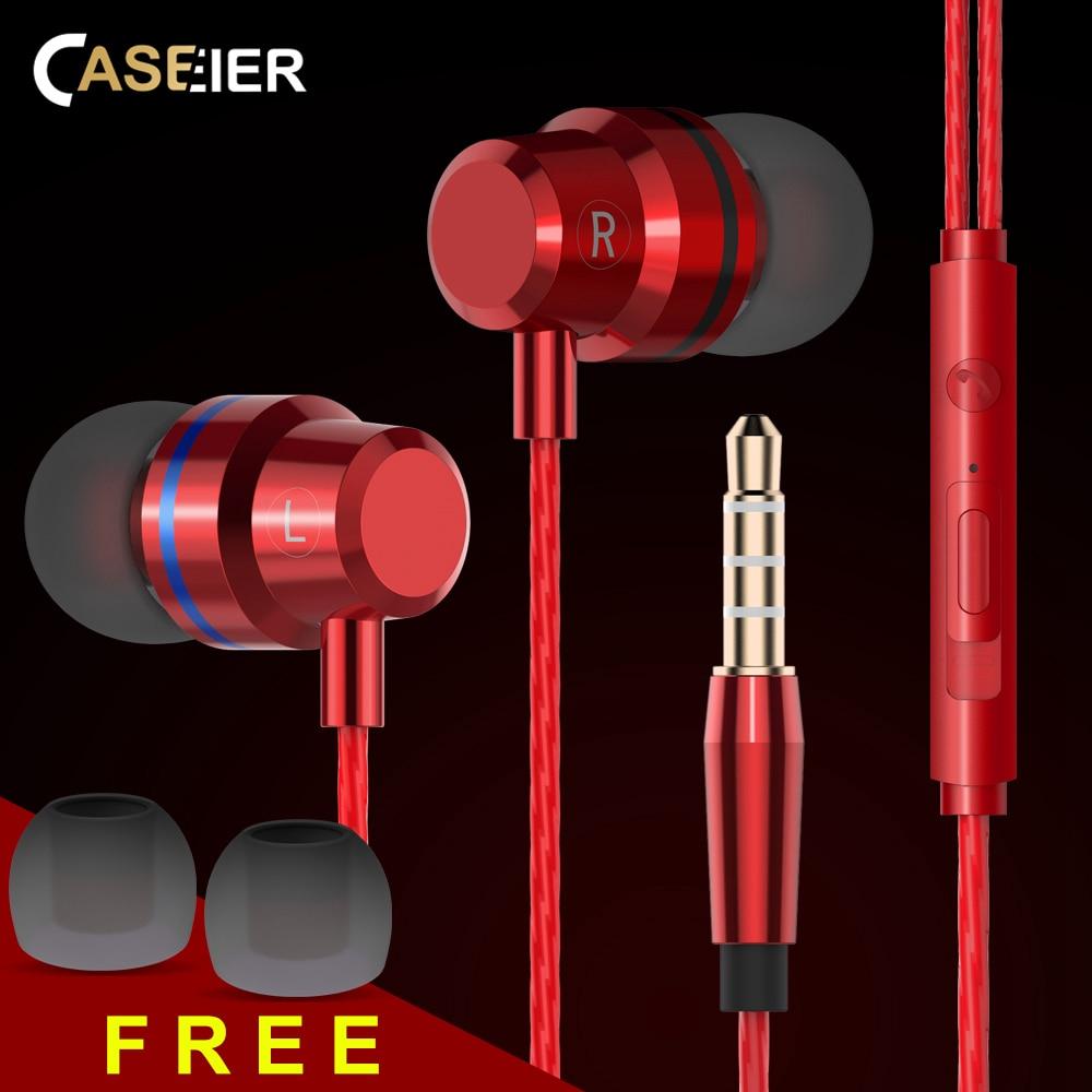 CASEIER X30 In-Ear наушники для iPhone с шумоподавлением HIFI наушники для Samsung Huawei Xiaomi High Bass Clear Sound наушники