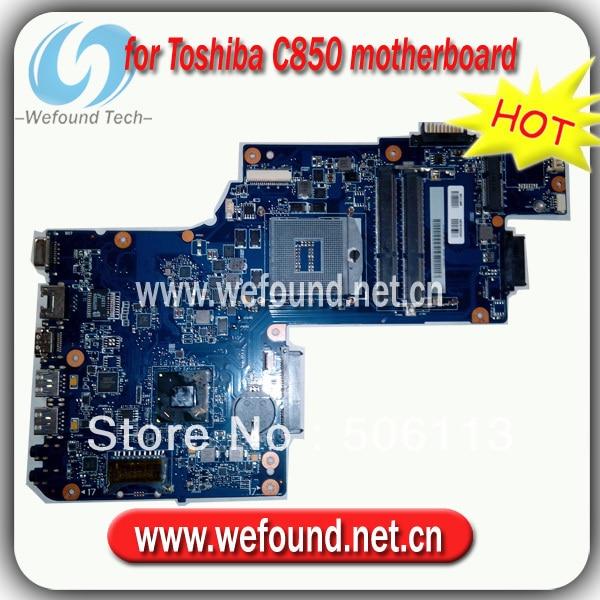 Hot! Para Toshiba C850 C855 L850 H000038380 L855 laptop motherboard