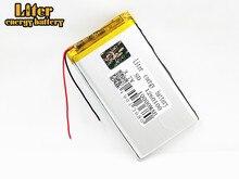 10000 mAh große kapazität 3,7 V lithium-polymer-batterie 1260100 Wiederaufladbare Li-Ion Zellen Für GPS DVD Tablet MID Elektrische Spielzeug