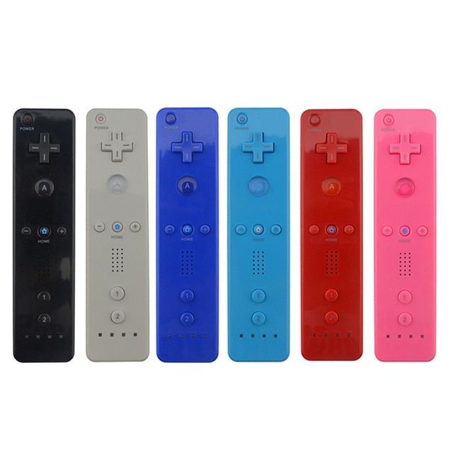 7 Colors 1pcs  Wireless Gamepad  For Nintend Wii Game Remote Controller  Joystick without Motion Plus