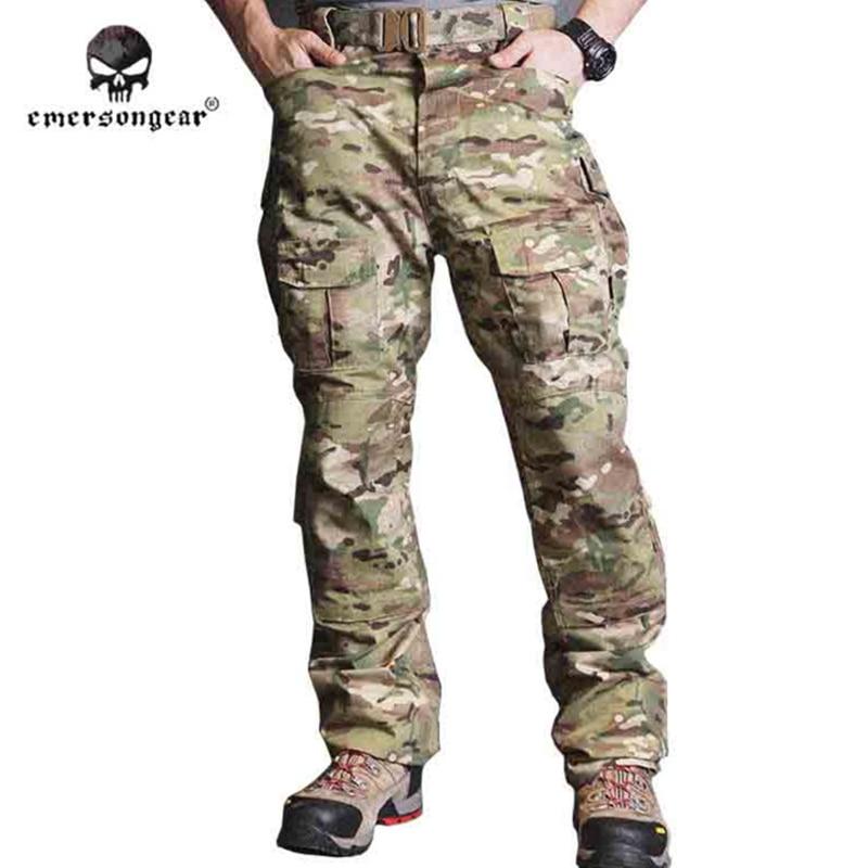 Брюки для тренировок Emersongear CP, тактические камуфляжные армейские брюки Emerson EM6990, 2017