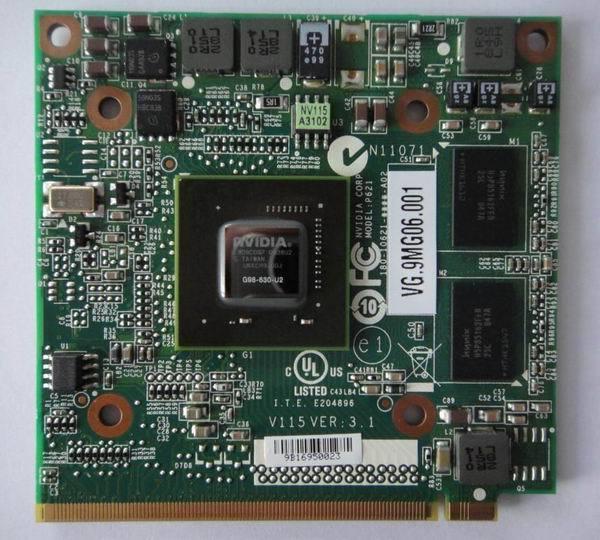 Бесплатная доставка для Acer Aspire 4730 4930 5930 6930 4630 видеокарта GeForce 7730 M GS 9300MGS MXM II DDR2 256MB G98-630-U2