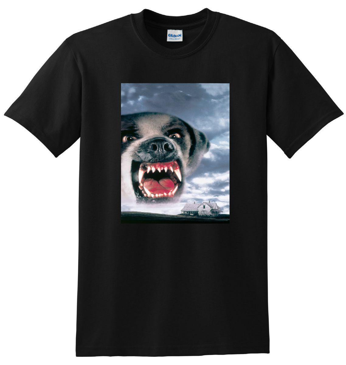 * NIEUWE * CUJO T-SHIRT Bluray Dvd Poster Tee 2018 Nieuwe 100% Katoenen T-Shirts Mannen T-Shirt voor Mannen/ jongen Korte Mouw Cool Tees