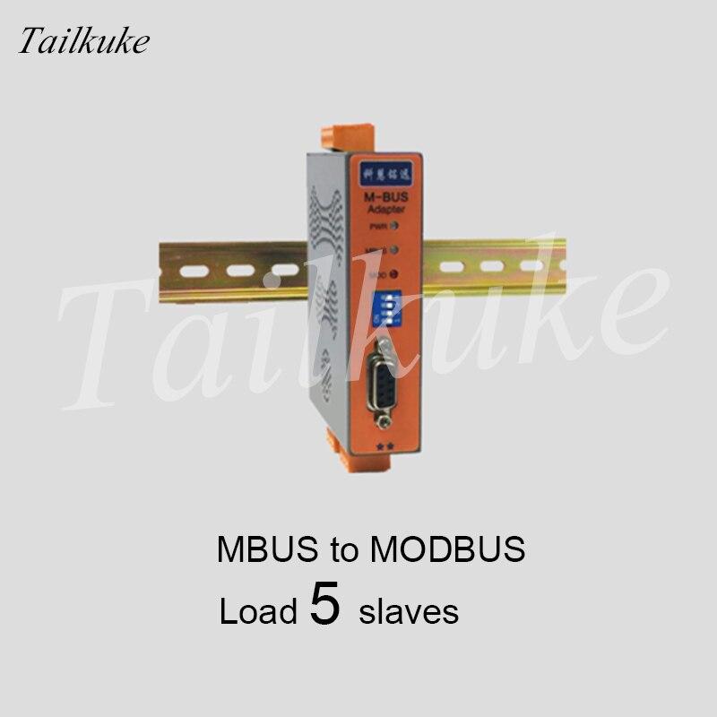 MBUS/M-BUS para MODBUS-RTU Conversor RS485/232 (5 Carga) KH-MR-M5