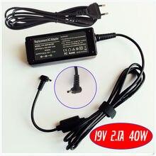 Chargeur adaptateur secteur Netbook 19V 2.1A pour ASUS Eee PC 1015PW 1015PX 1015BX 1015CX 1015PEB 1215B 1101HGO 1015PEM 1005HA-V