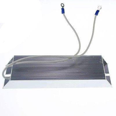 Power 500 w qualquer fio de resistência enrolado alumínio abrigado resistor de travagem do inversor