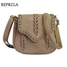 REPRCLA nouvelle mode femmes sac armure PU cuir sacs à main bandoulière Vintage petits sacs Messenger pour cadeau sac à main