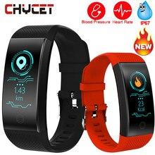 Smart Armband QW18 Blutdruck Messung Uhr Smart Band Wasserdichte GPS Aktivität Fitness Tracker Herz Rate Männer Frauen