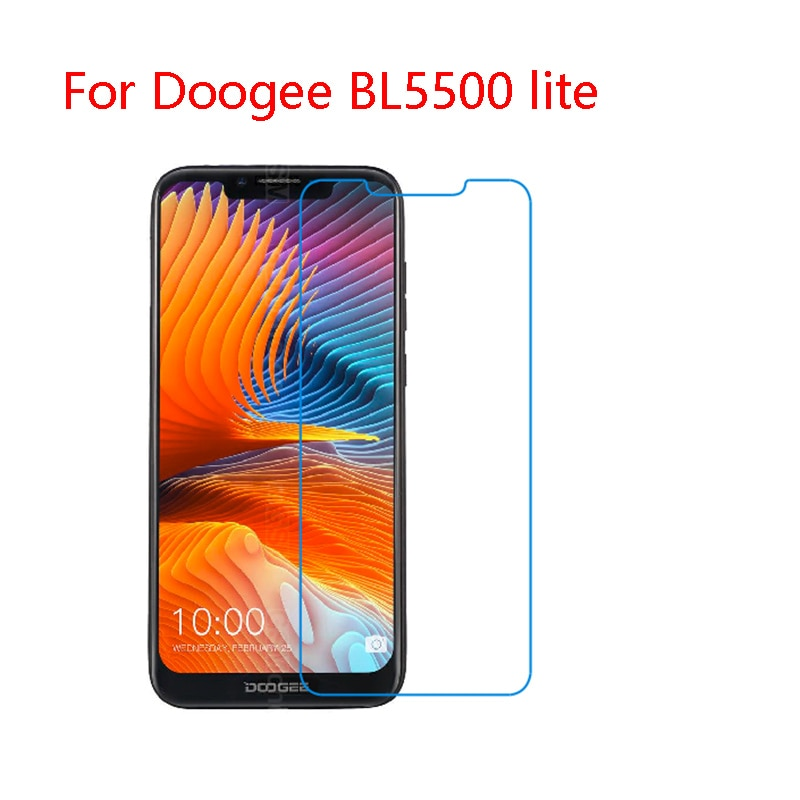 Película de vidrio flexible 9 H para Doogee BL5500-lite, 9000, S55, 60,70, 80,90,