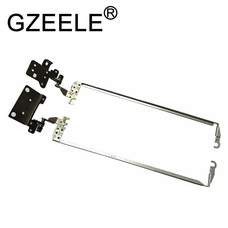 GZEELE new laptop Hinge For Acer Aspire ES1-523 ES1-532 ES1-533 ES1-572 ES1-532G LCD Hinges AM1NX000100 AM1NX000200 33.GD0N2.004