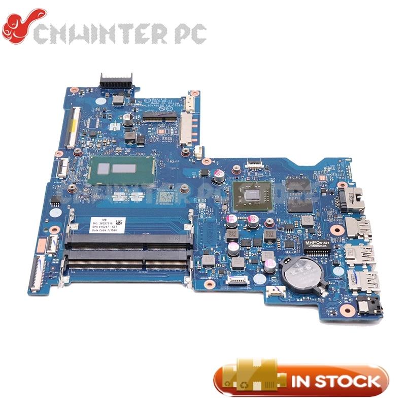NOKOTION para HP 15-AC 250 G4 placa base de computadora portátil SR23W I7-5500U CPU R5 M330 gpu 815247-501, 815247-001 AHL50 ABL52 LA-C701P