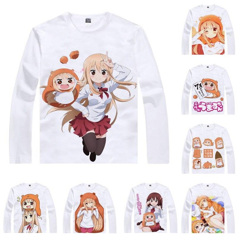¡Camiseta Coolprint Anime himuto! Umaru-chan Camisetas manga larga Umaru Doma Nana Ebina, Kirie Motoba Cosplay Kawaii camisas