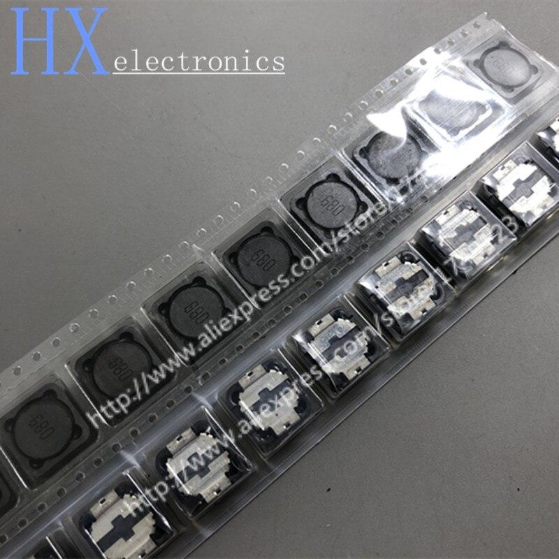 Envío gratis 10 Uds CDRH127 CD127 CDRH127 10/15/22/33/47/68UH 12*12*7 SMD inductancia de potencia SMD