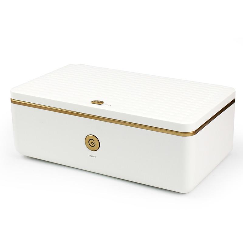 Портативная УФ-дезинфекция коробка озона двойная стерилизация коробка UVC полоса USB интерфейс персональное очищающее устройство DC4.5V-5.5V