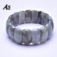 Asingeloo 2019 nouveau Spectrolite Labradorite perles en pierre naturelle fait des bracelets bracelets pour femme et hommes bijoux cadeau