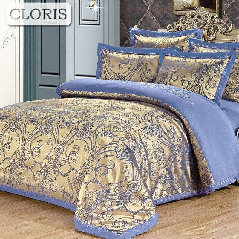 Cloris família jogo de cama colchas xadrez euro conjuntos cama cetim capa edredão folha melhor algodão na cama coverlet