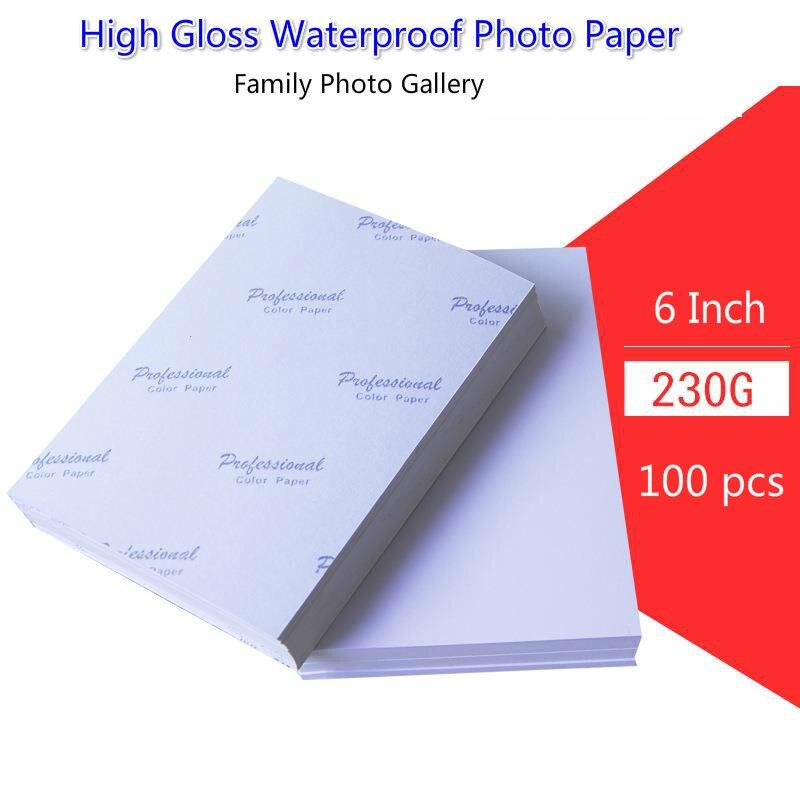 A5 3R 4R 5R A3 A4 200 листов, фотобумага, глянцевый принтер для печати на бумаге, фотобумага, цветная печать с покрытием для домашней печати