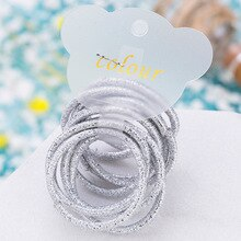 50PCS/Lot Kids Solid Color Hair Accessories For Women Headband,Elastic Bands For Hair For Girl,Hair