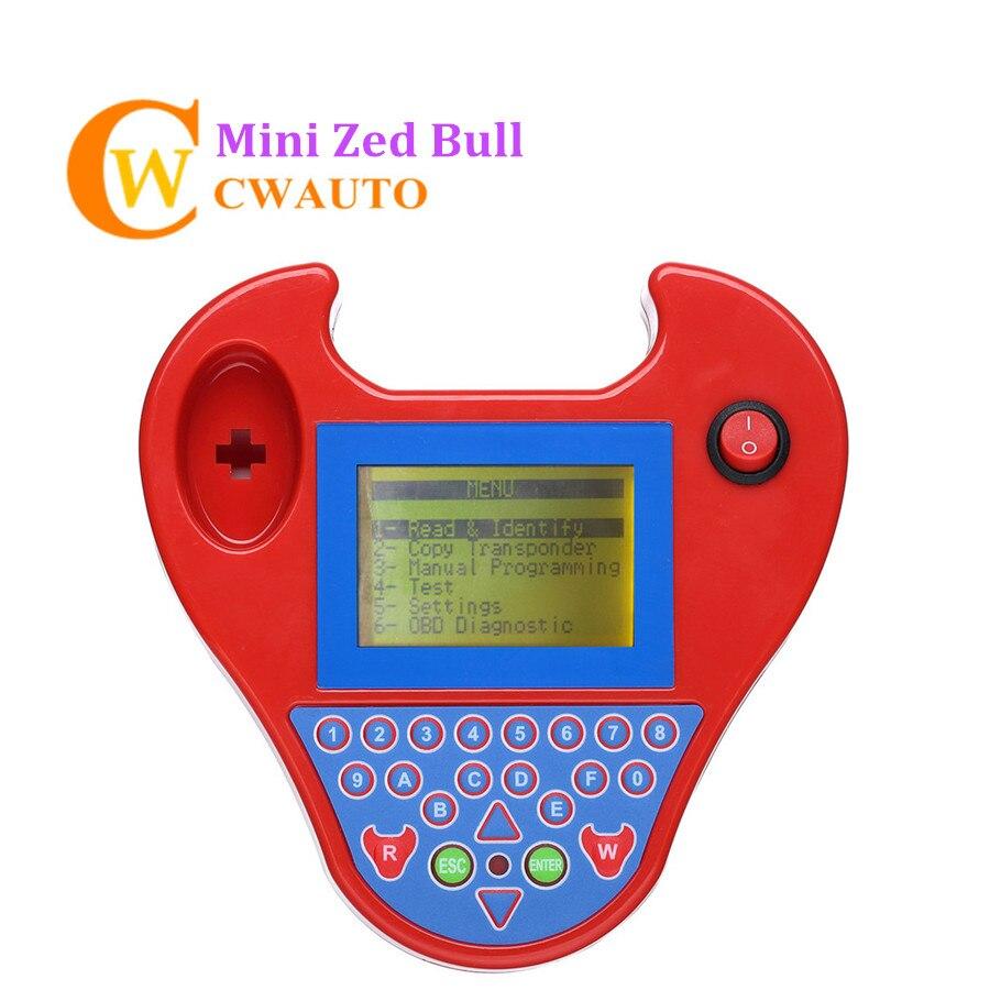 Transpondedor ZedBull Mini tipo ZedBull V508 programador de llave automático inteligente OBDII Mini Zed bull clave transpondedor leer código Pin