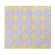 Autocollants mèche Double face   Étiquette adhésive en mousse, points, bricolage, bougies fournitures,, 20 pièces