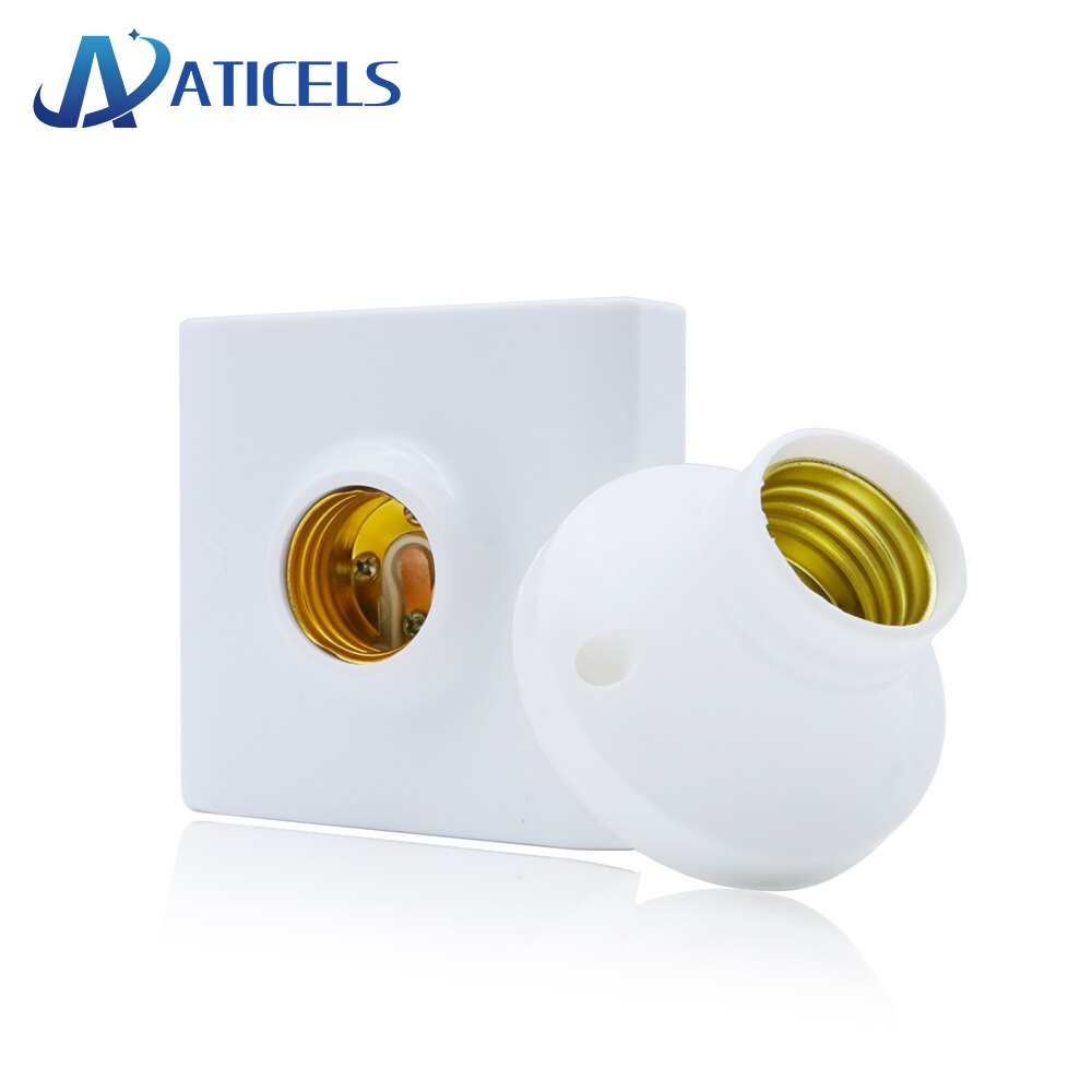1 шт. винтовой Цоколь E27 E14 патрон лампы светильник патрон-адаптер