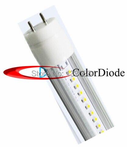 Clear cover High brightness Natural white T8 LED Tube Light SMD2835 60leds 1200LM AC85-265V 10W 0.6m